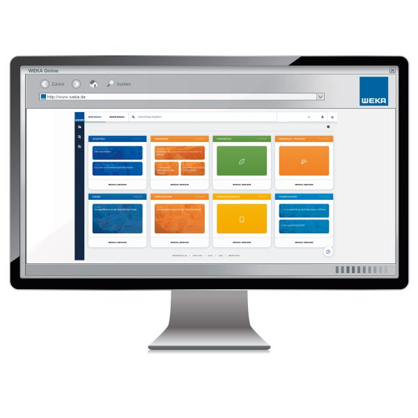 Monitor_WEKA Business Portal